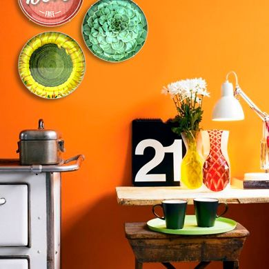 Light Orange Kitchen Walls 22 best examples of decorative plates images on pinterest