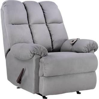 Dorel Massage Rocker Recliner Grey - Also Comes In Tan $299 @ Sears