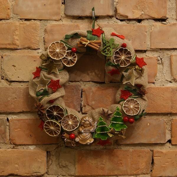 Wianek,ozdoba świąteczna. Ręcznie wykonany, Handmade by Suzi Handmade in category Crafts/Woodworking. Located in Choszczno, Poland