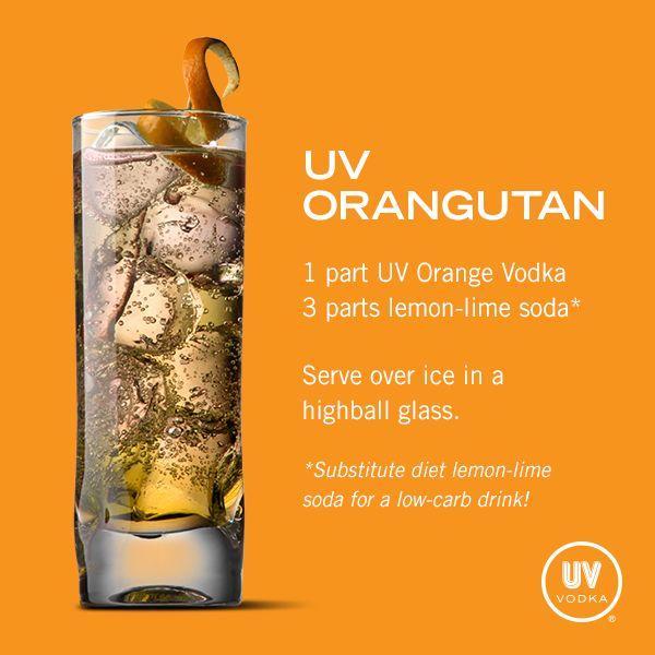 UV Vodka Recipe: UV Orangutan...wtf is with the name?!