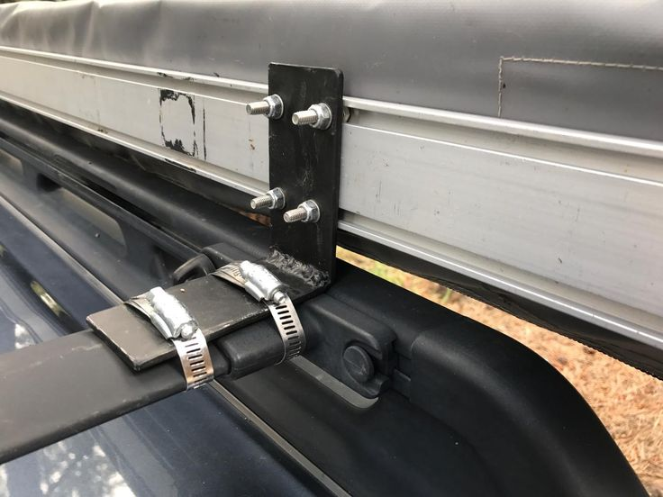 ARB awning to factory cross bars in 2020 Roof rack