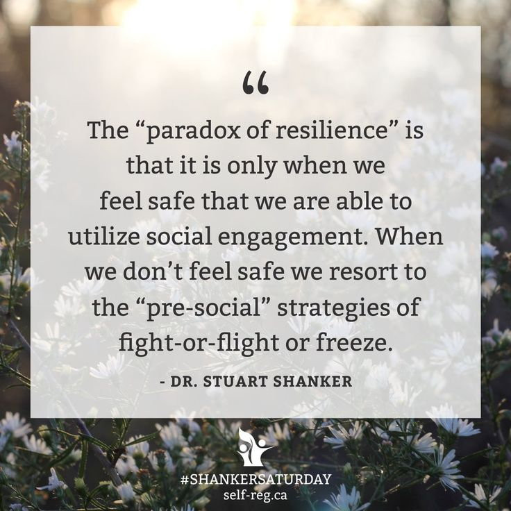 The feeling of safety comes first. It is the prerequisite to feeling calm alert and ready to learn.   #ShankerSaturday @StuartShanker https://t.co/6dVNjlpNyH