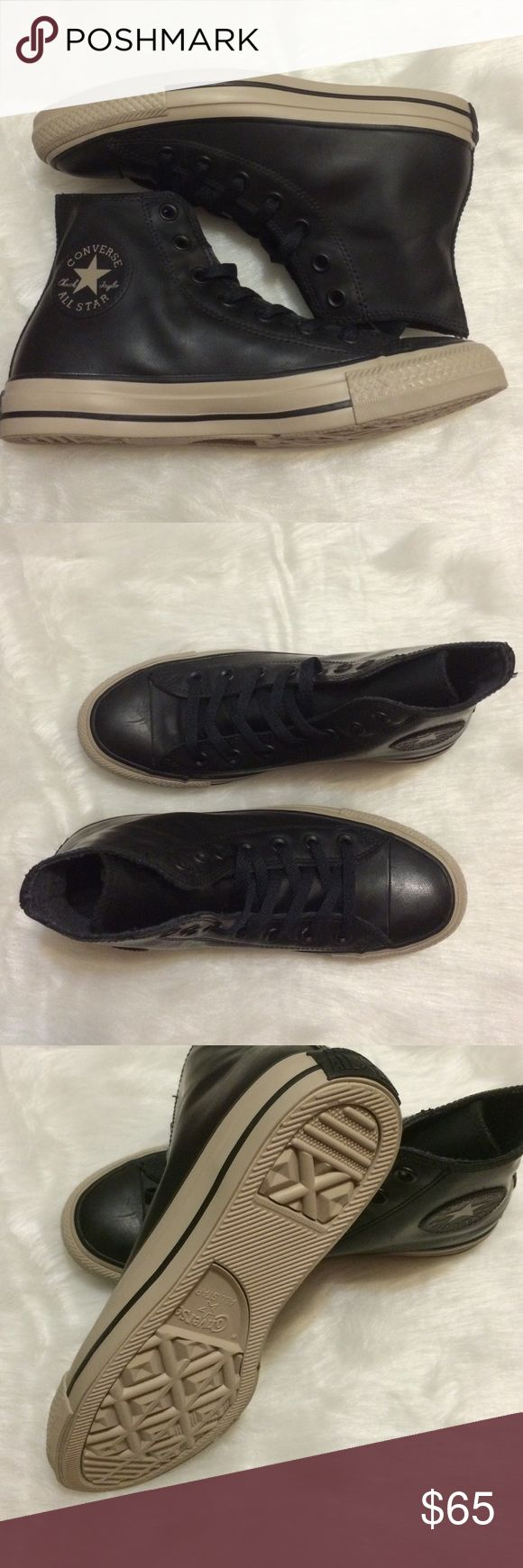 Converse women's size 7 black Chuck Taylor's Brand new. Size 7. Converse Shoes Athletic Shoes