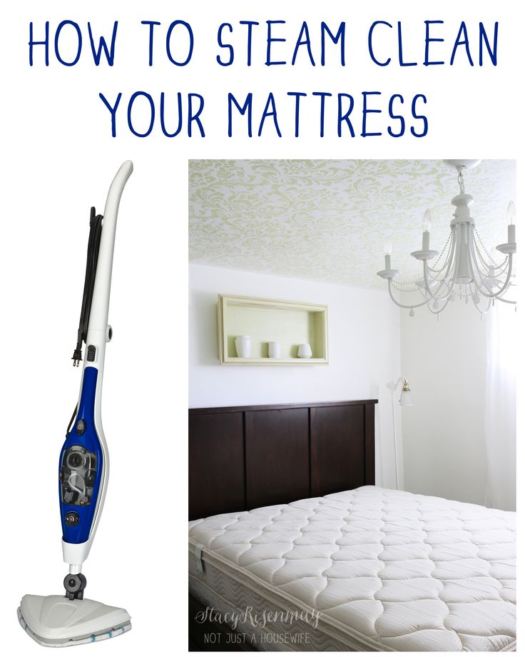 How to Steam Clean Your Mattress! {and a Giveaway}