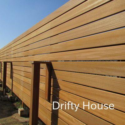 神奈川県横須賀市Y様邸お庭施工例/木製目隠し横格子フェンス