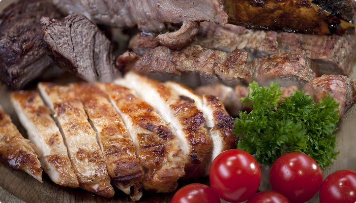 Tradiontional Ukrainian Meat #food #kiev #ukraine