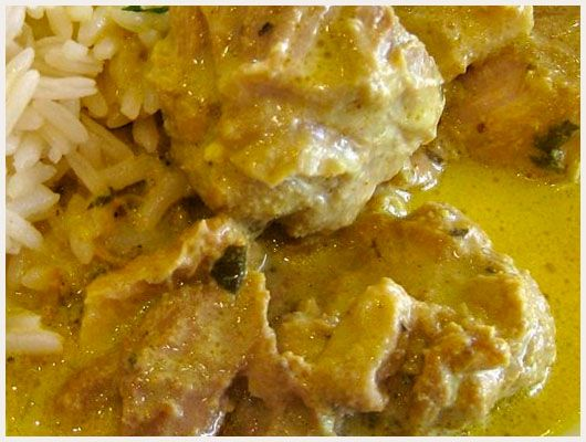 Porc au Curry Simple