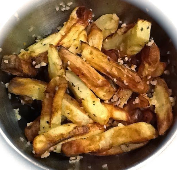 This is Day 8 of my Daniel Fast.   I'm on a french fries kick, so I've been trying out different french fry flavors!!! My husband an...