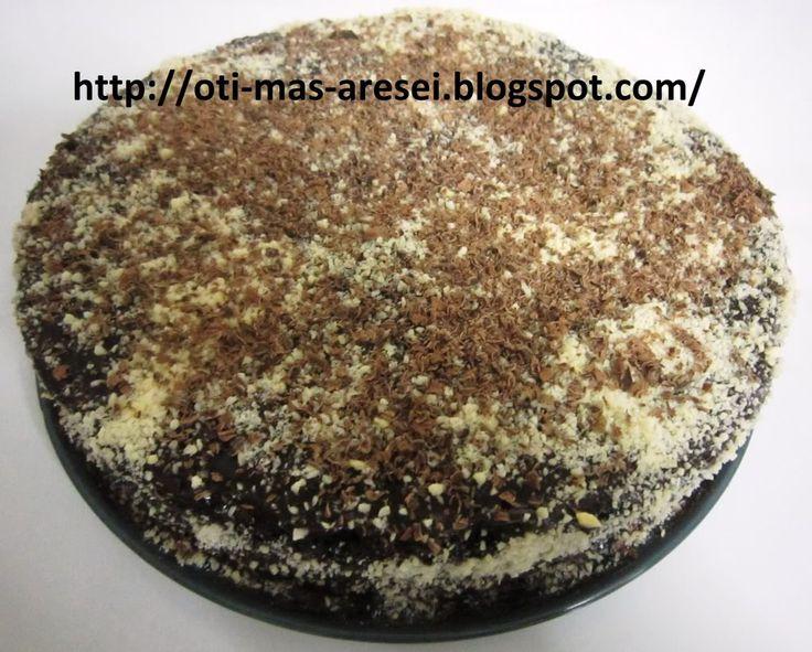 Νηστισιμη τούρτα σοκολάτας