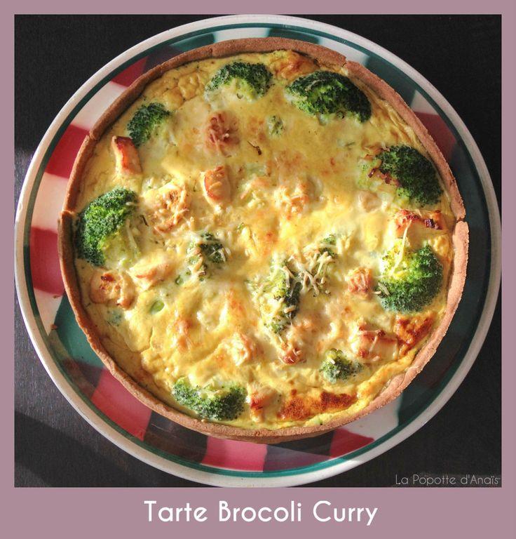 #YummyBrocoli - Tarte Brocoli Curry