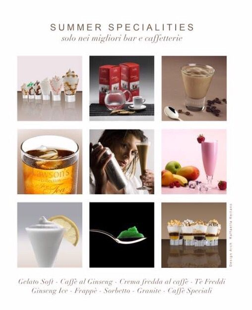 Delicious Summerdrinks   from Italy  Order now online -  http://www.solino.gr/naturalmix/241/gelato-soft/gelato-soft-1.html