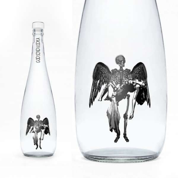 48 Artistic Vodka Bottles - From Psychedelic Booze Branding to Surrealist Alcohol Labels (TOPLIST)