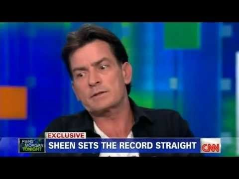 Charlie Sheen on Piers Morgan Tonight (2011 02 28) - YouTube