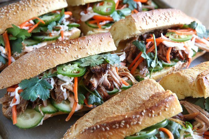 I remember the first time I tried it in a little restaurant in Chicago ! MUST TRY AT HOME - Pork Banh Mi
