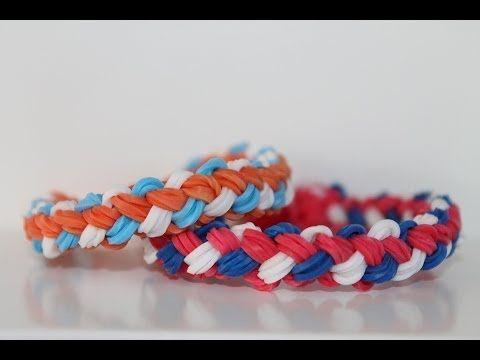 Rainbow Loom Nederlands, Double Braid, armband - YouTube