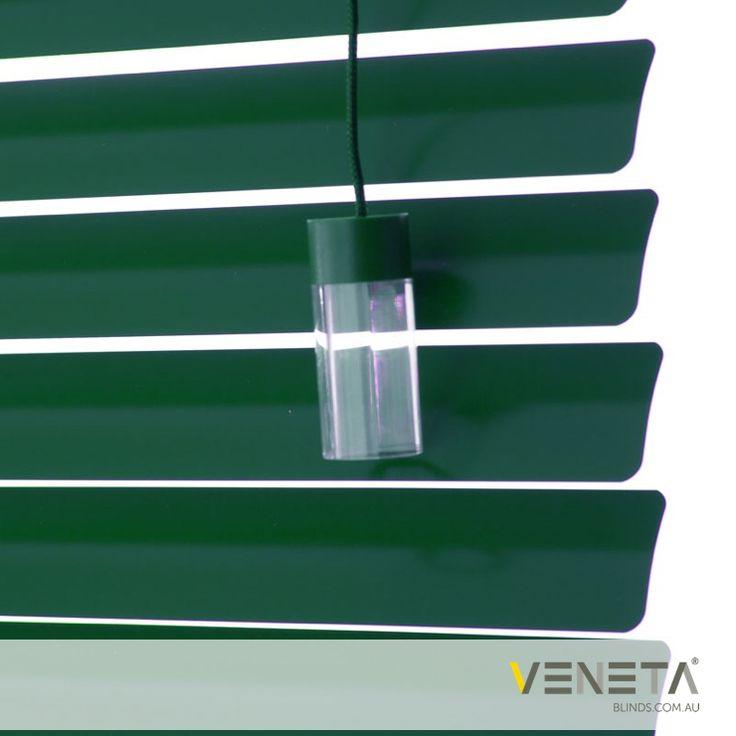 Veneta Blinds : Aluminium Blinds Colour : DEEP IVY