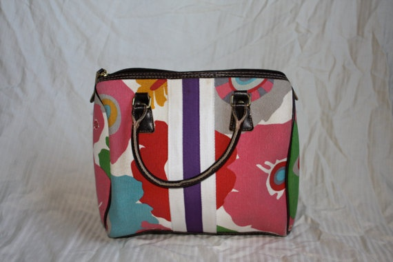 Summer Floral Handbag by in2purses2010 on Etsy, $28.00