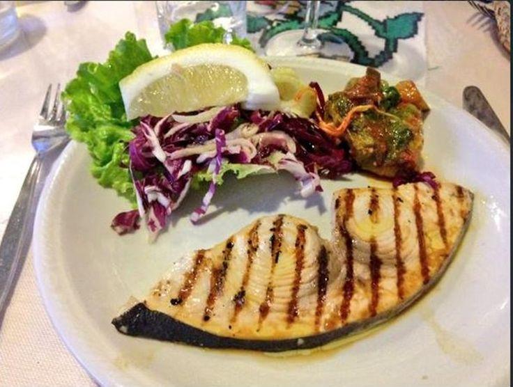 Grilled swordfish...already tasted?