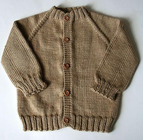 Top Down Seamless Raglan Baby Sweater By Beholdthev Via