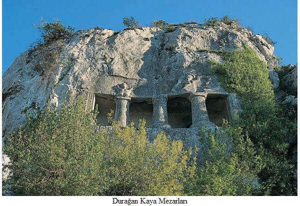 Durağan Kaya Mezarları, Sinop, Türkiye