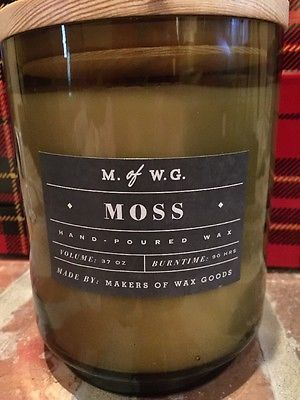 M Of W G Makers Wax Goods 37 Oz Candle Moss Home Pinterest Candles And