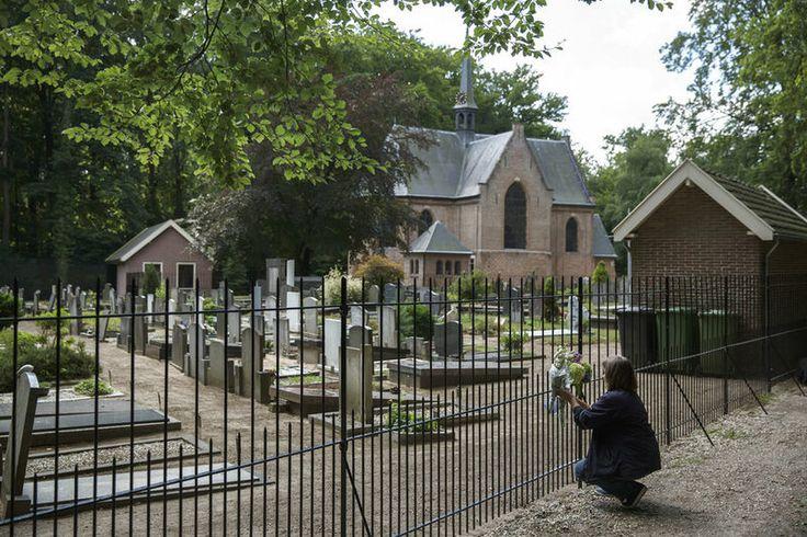De begraafplaats bij Lage Vuursche, waar ook prins Friso begraven ligt.