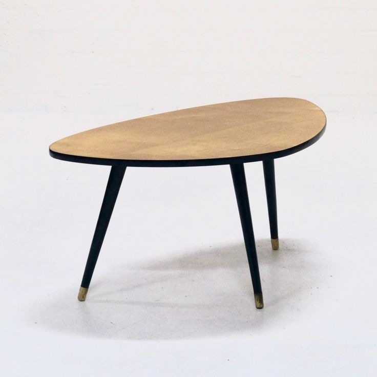 Mid-Century Triangle Shaped Coffee Table, 1960s