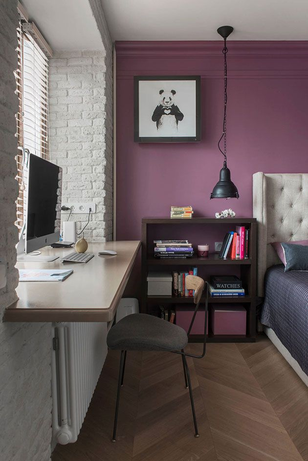 Dormitorios pintados en dos colores
