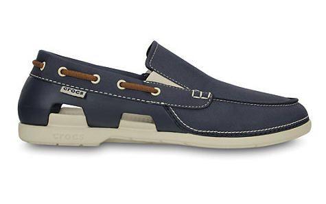 Men's Beach Line Boat Slip-on, achat Chaussures bateau Crocs pas cher prix promo 64,99 € TTC