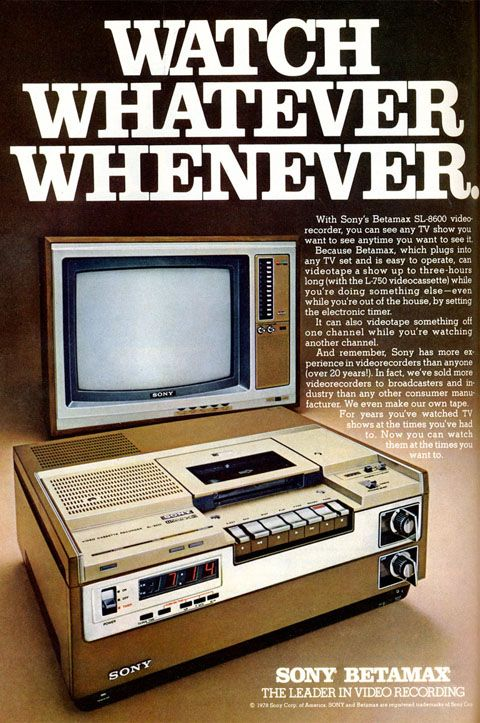 The world-changing miracle that was the Betamax