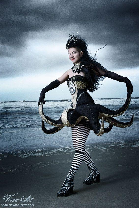 Vecona Fashion Octopus Dress