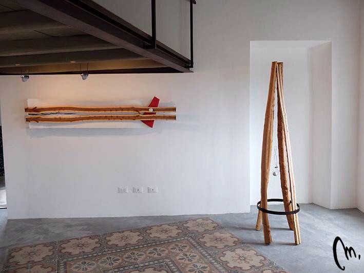 Sculture in legno e materiali naturali riciclati di Mauro Manco