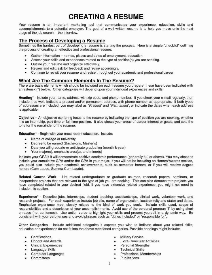 32 Best Of Interests Section On Resume in 2020 Resume