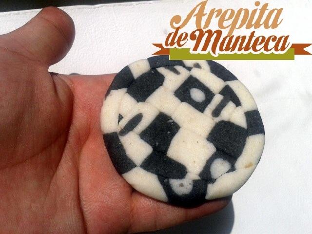 Arepita mosaico!