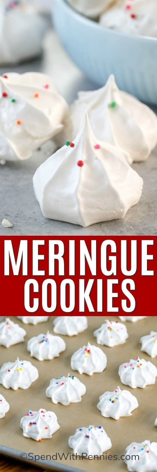 Grandma's Meringue Cookies {Airy & Delicious!} - Spend With Pennies
