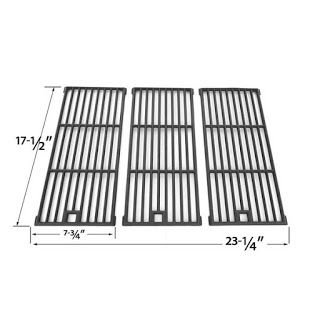 Grillpartszone- Grill Parts Store Canada - Get BBQ Parts,Grill Parts Canada: Amana Cooking Grid | Replacement 3 Pack Cast Iron ...
