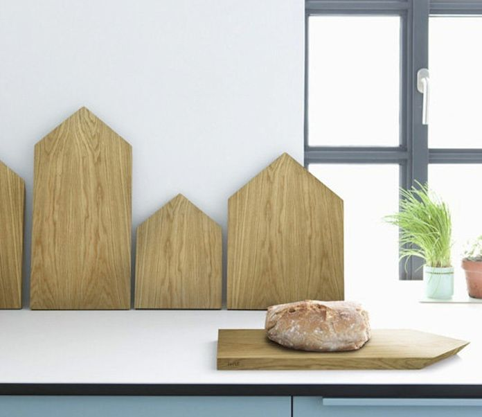 Wooden House Cutting Boards, Remodelista