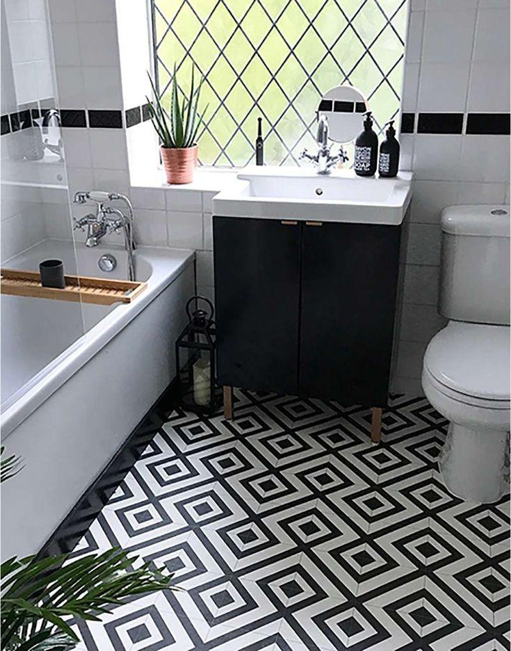New Orleans Desire Vinyl flooring bathroom, Bathroom