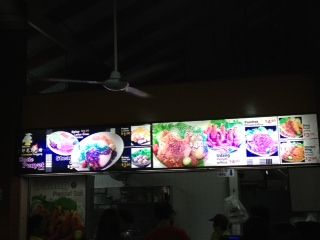 Indonesian stall