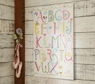 love the ballet slippers: Alphabet Wall Art, Idea, Baby Girl, Dawn Nicole, Art Pottery, Pottery Barn Kid, Girl Nursery