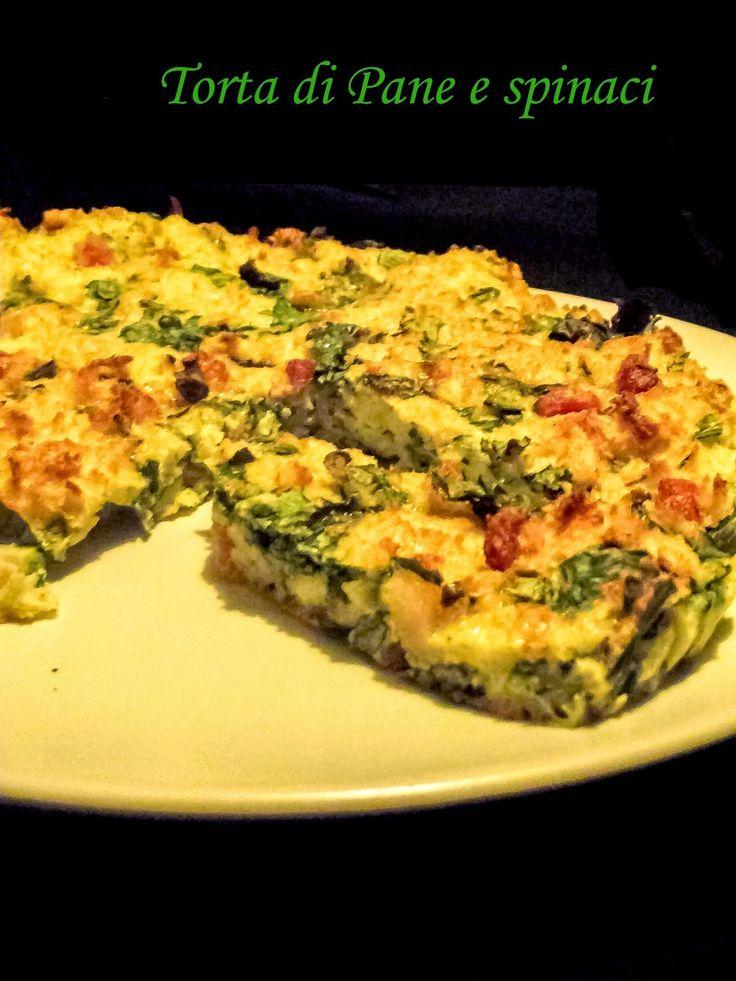 L'emporio 21: Torta di pane e spinaci...la sfida della cucina degli avanzi