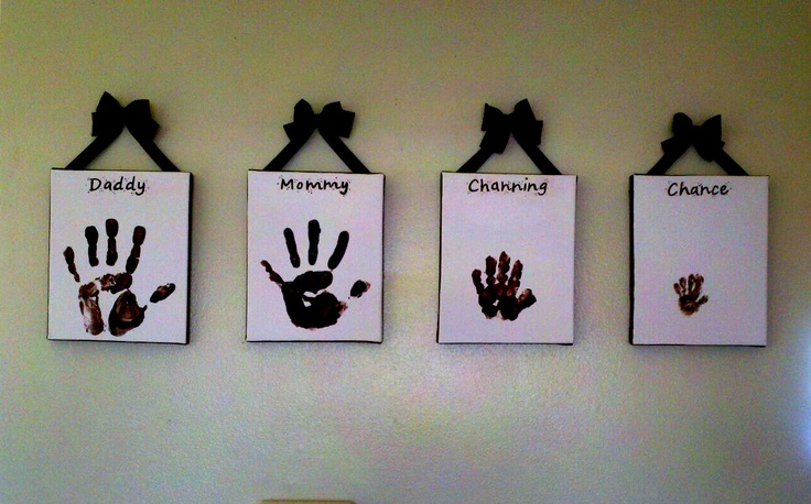 Our family handprints