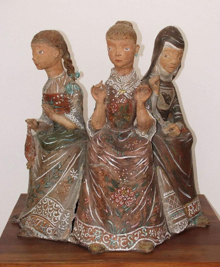 the three fates - margit kovacs - Google Search