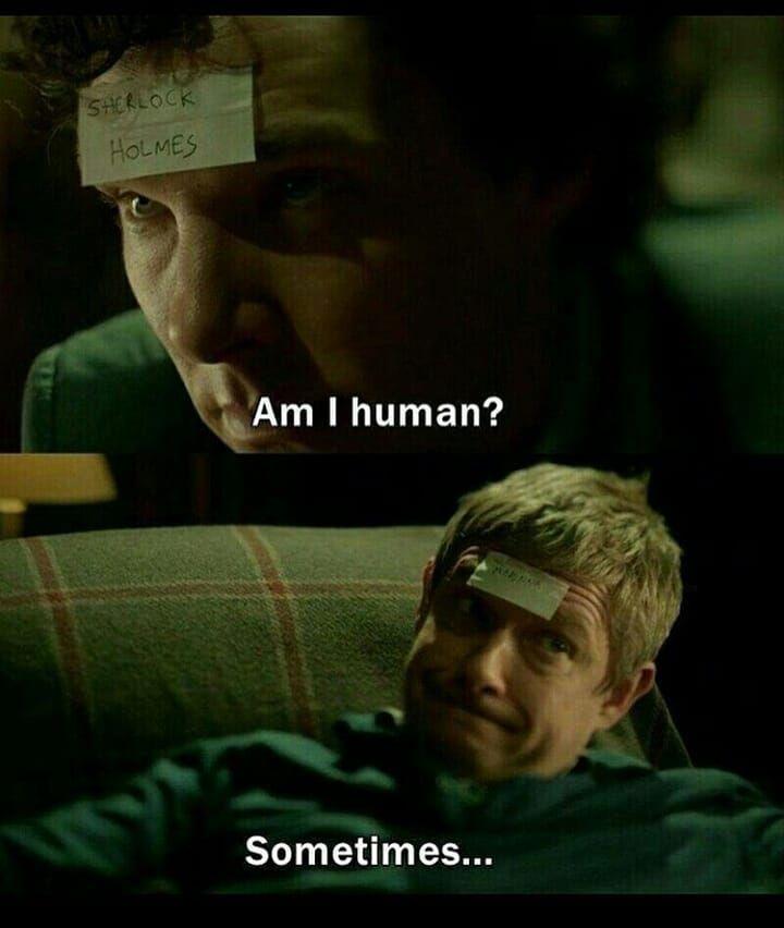 #Sherlock   Sherlock & John lol