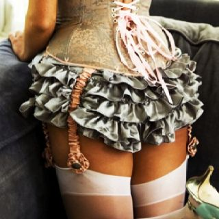 Ruffles and a corset, Moulin Rouge!