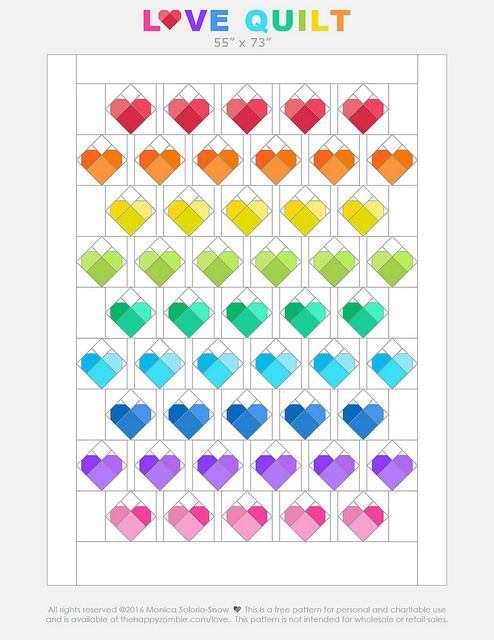 233 Best Images About Quilts Triangles On Pinterest