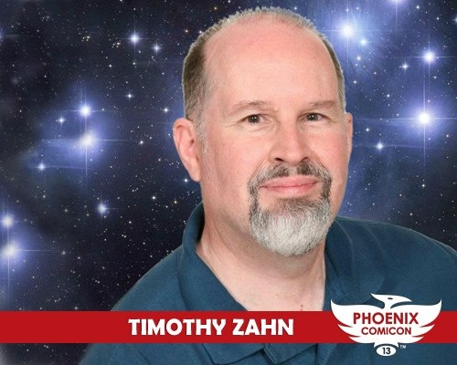 Phoenix Comicon 2013 welcomes science fiction writer Timothy Zahn, winner of the 1984 Hugo Award for Best Novella and author of the Blackcollar series, the Conquerors' trilogy, the Cobra War trilogy and many Star Wars novels including the recent release of Scoundrels!