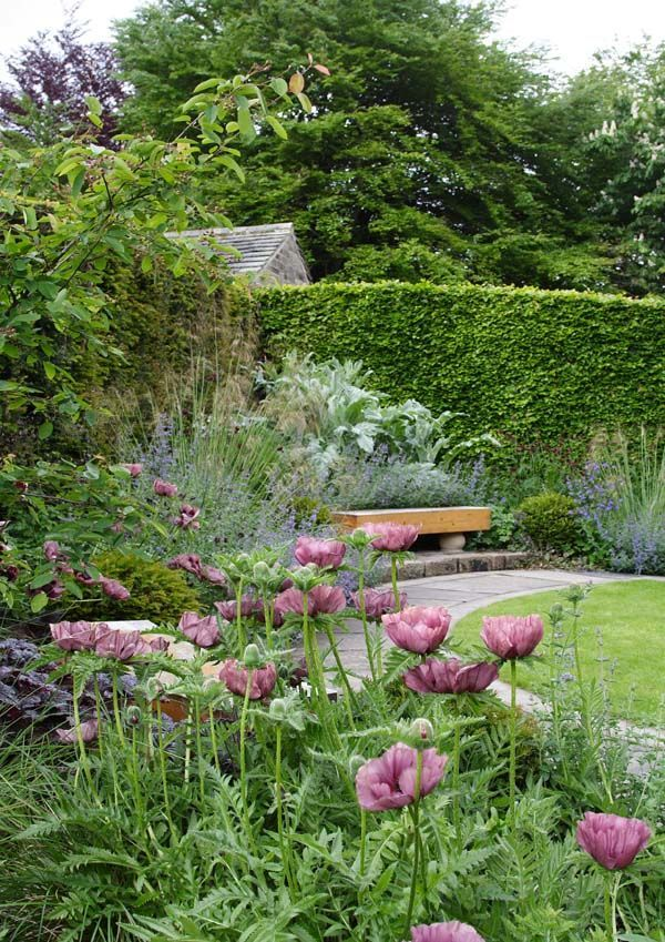 'Lure of the Sheltered Corner'- Heaven is a Garden, a garden design book