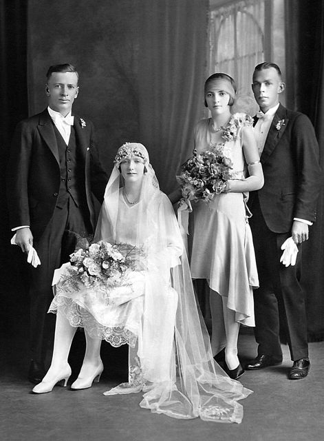 Wedding party, 1930