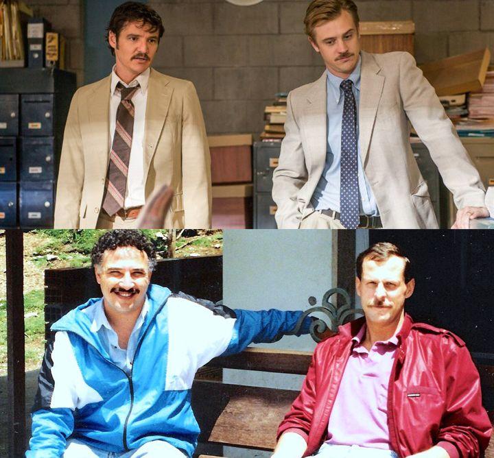 real Narcos Peña and Murphy